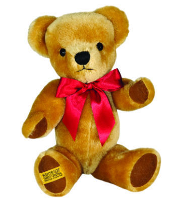 "Merrythought London Gold Bear 16"" with Growler"