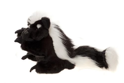 Pongo Skunk Puppet by Charlie Bears