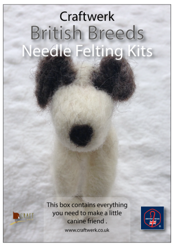 *Needle Felting Kit - Little Dog