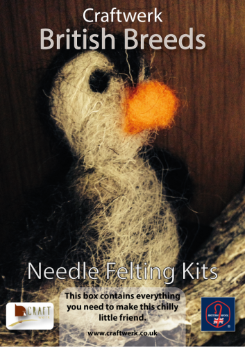 *Needle Felting Kit - Penguin