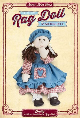 Emily Rag Doll Kit
