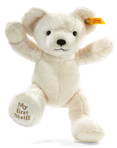 My First Steiff Teddy Bear Cream