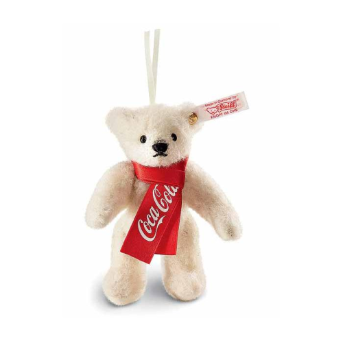 Steiff Coca-Cola Polar Bear Ornament