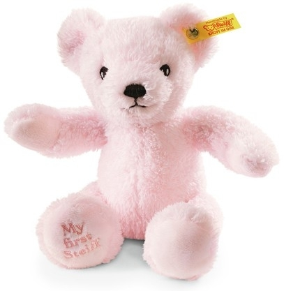 My First Steiff Teddy Bear  Pink