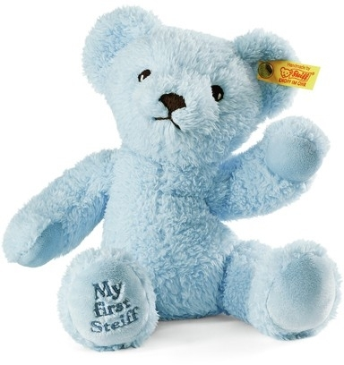 My First Steiff Teddy Bear  Blue
