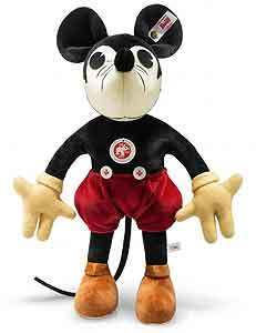Steiff  Mickey Mouse  1932 Replica