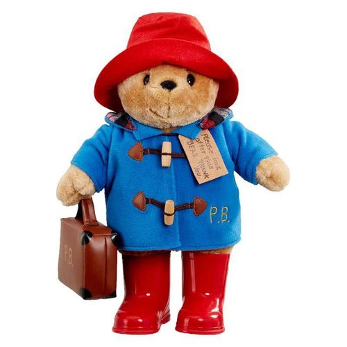 Paddington with Suitcase