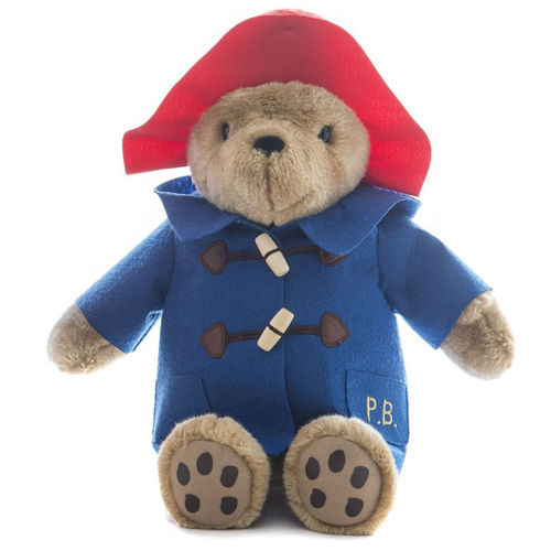 Cuddly Paddington Blue Coat